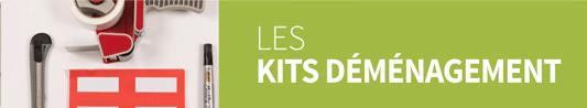 Les kits déménagement